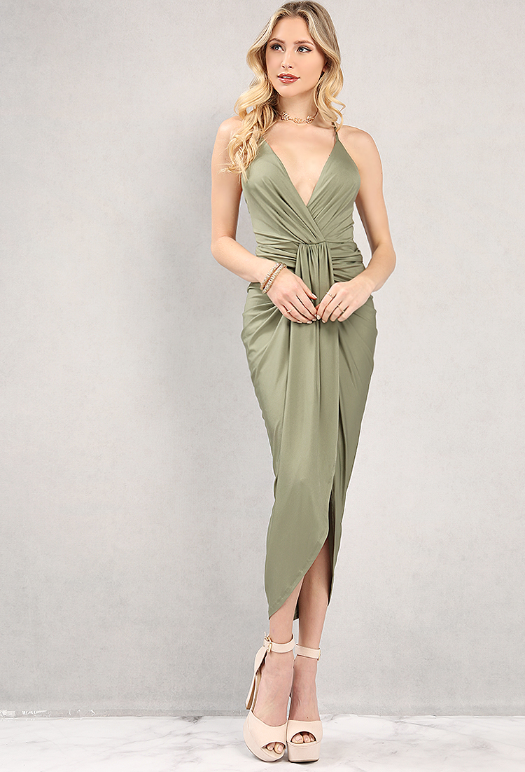 pin drape front brown in drapes cloth midi asos floral pinterest dress