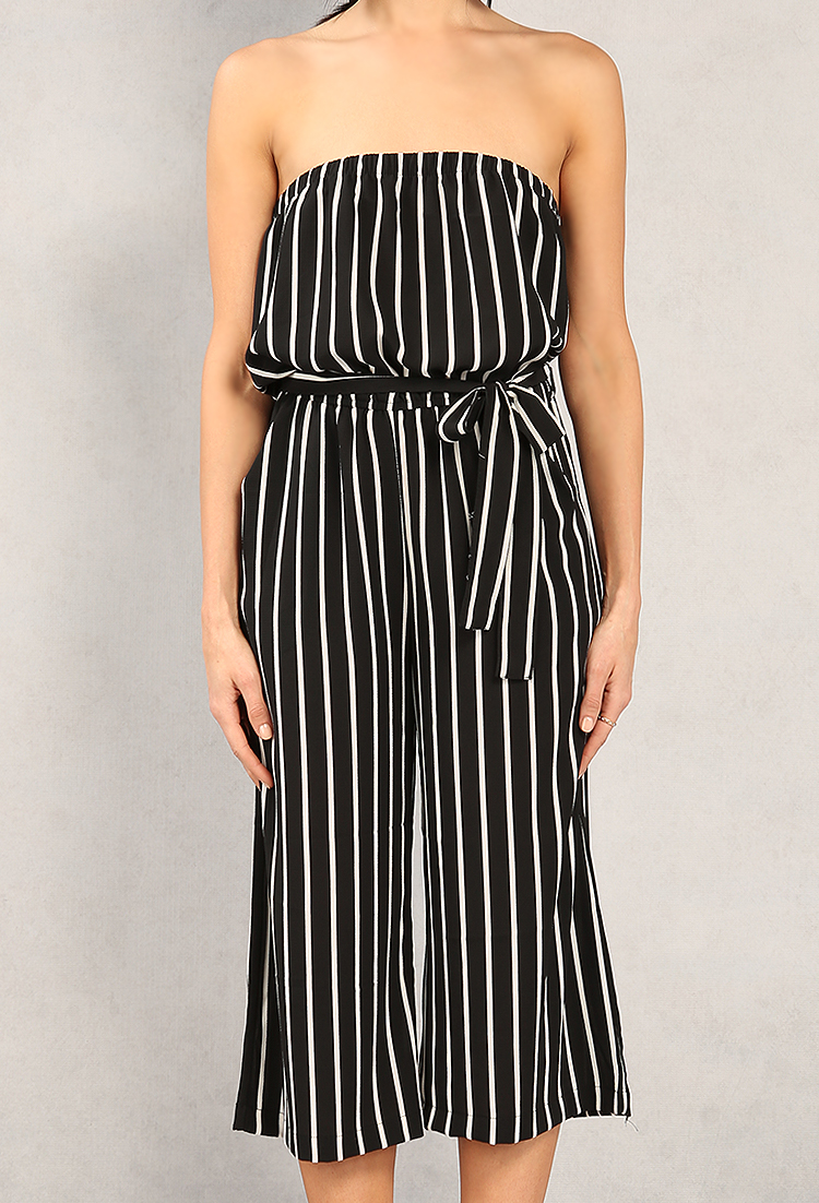 100% quality save up to 60% choose latest Striped Strapless Jumpsuit | Shop Summer Rompers & Dresses ...