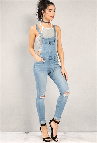 Shop for skinny denim overalls online at Target. Free shipping on purchases over $35 and save 5% every day with your Target REDcard.
