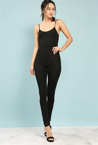 Stretch-Knit Cami Jumpsuit | Shop Jumpsuit at Papaya Clothing