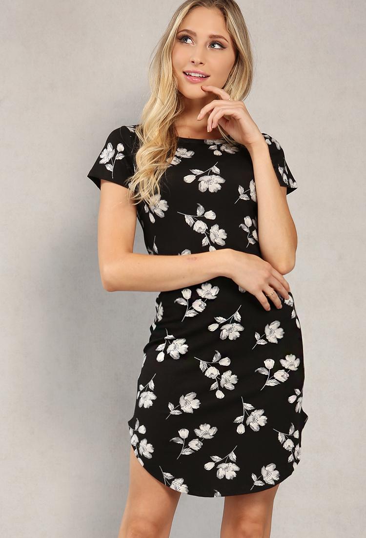 2c9711c4dbce Floral Printed T-Shirt Dress