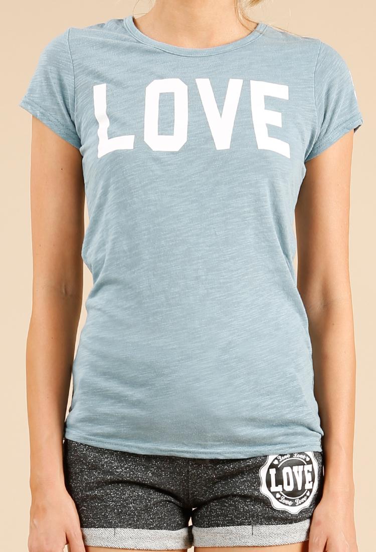 33f919ff Marled LOVE Graphic Tee | Shop Clothing at Papaya Clothing