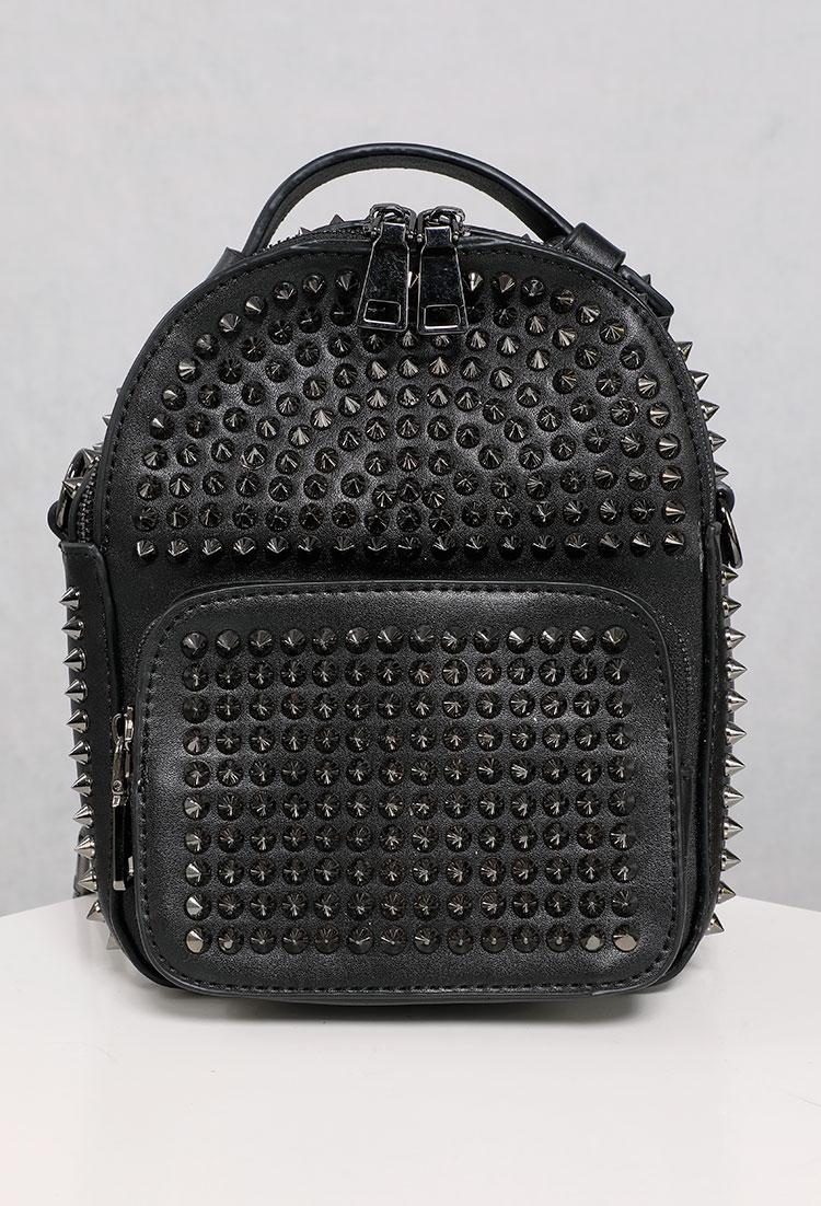 a7ceb9bdf31 Studded Mini Backpack | Shop Bags & Wallets at Papaya Clothing