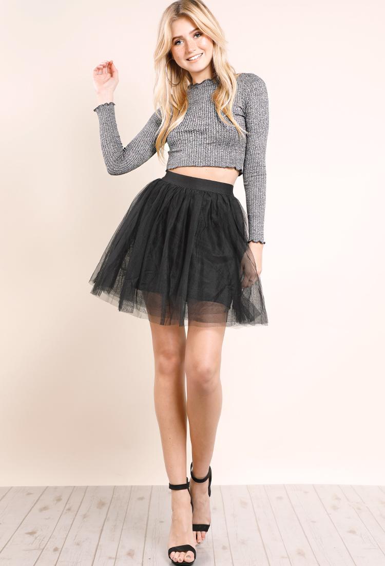 ba24acef9c Tulle Mini Skirt | Shop Old Sale Bottoms at Papaya Clothing