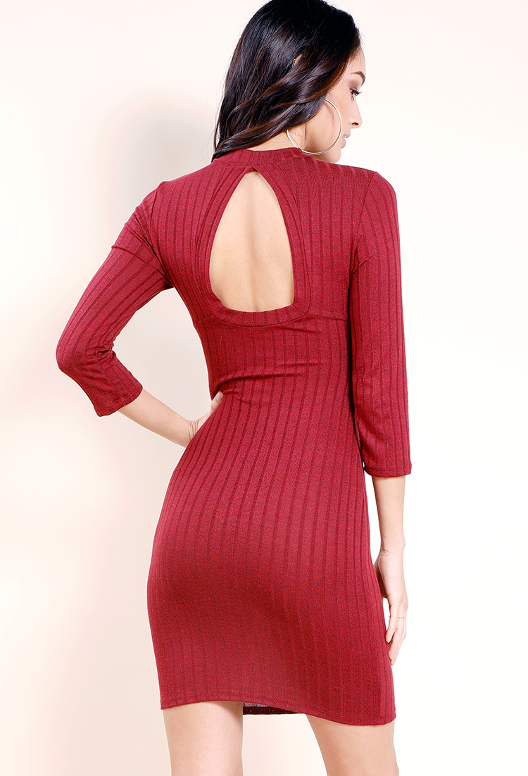 how to cut back of dress old