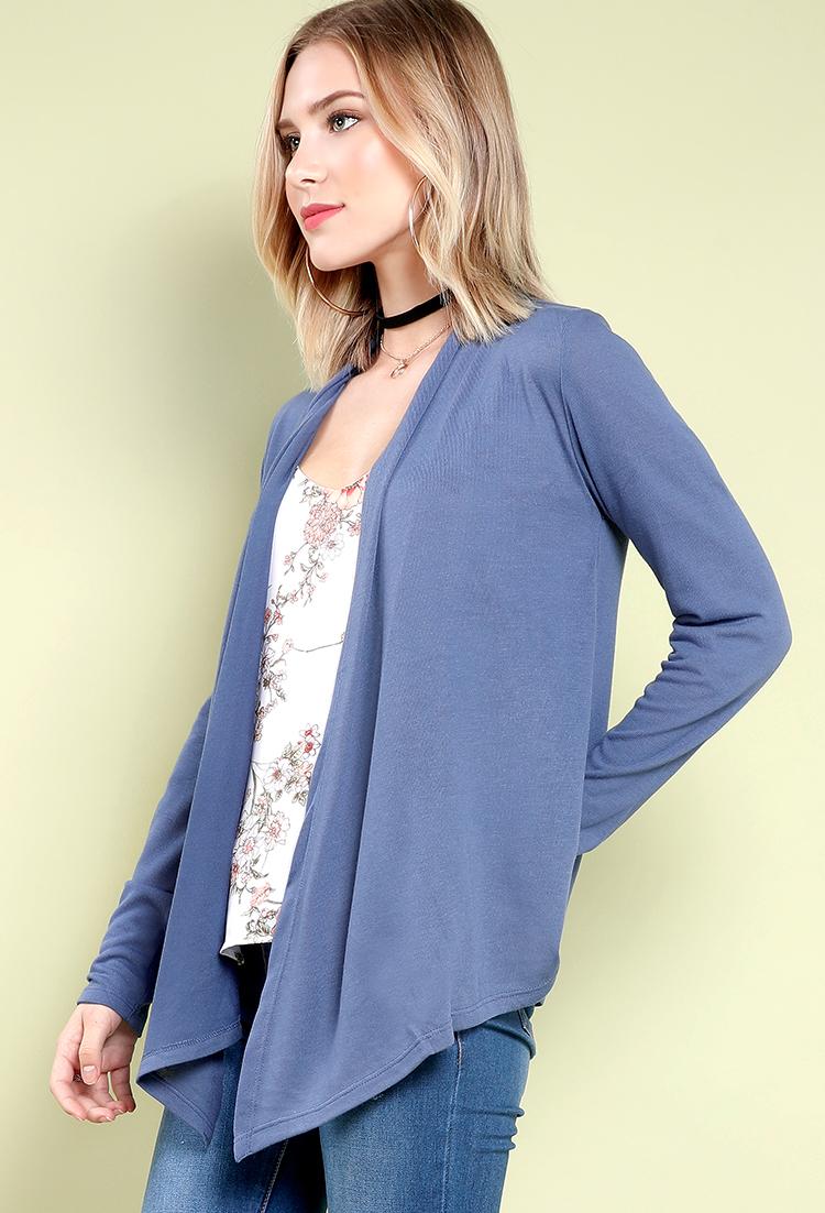 asymmetric geo fancy zoom cardigan com draped drapes front cardigans oasap print open loading