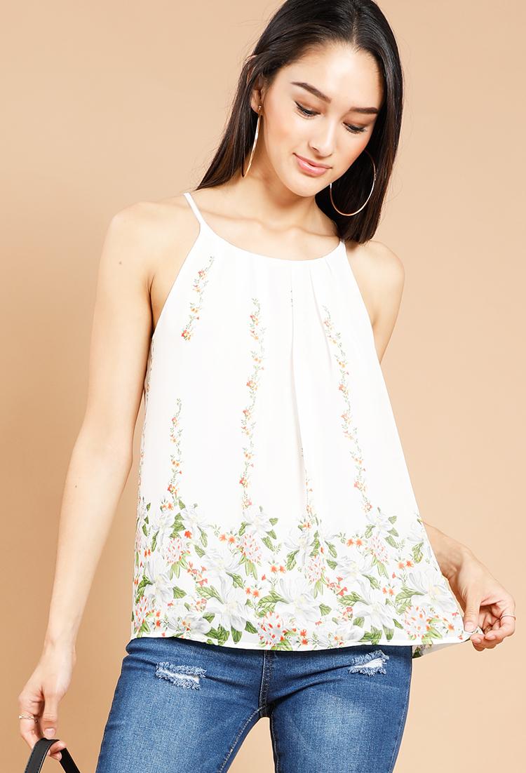 floral cami top shop best sellers at papaya clothing