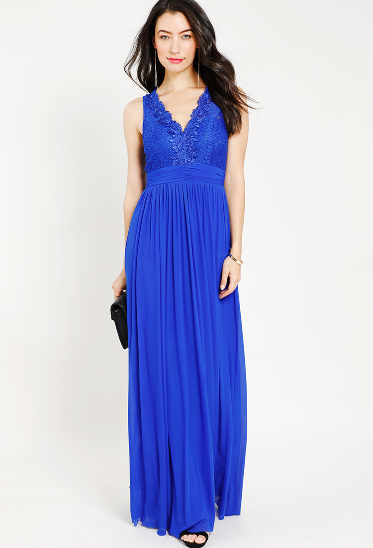 Lace Layered Draped Gown | Shop Special Occasion at Papaya Clothing