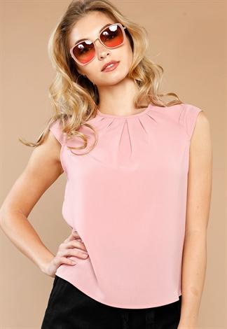 Keyhole Detail Dressy Blouse Shop New In At Papaya Clothing