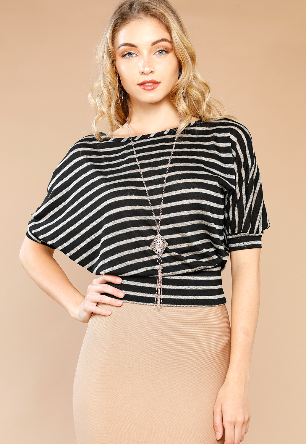 Knit Striped Top