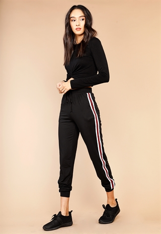 Active Striped Track Joggers