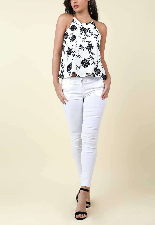38ee3f914e7a4e Thin Strap Floral Top | Shop Blouses & Shirts at Papaya Clothing