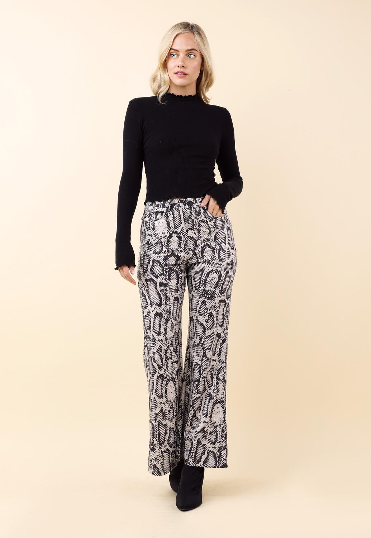 be367c8b6430 Animal Print Wide Leg Pants | Shop What's New at Papaya Clothing