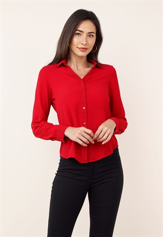 Long Sleeve Dressy Blouse