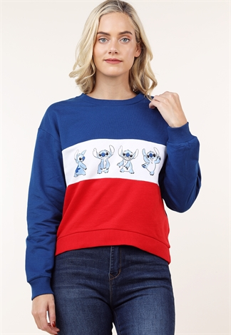 Stitch Graphic Sweatshirt