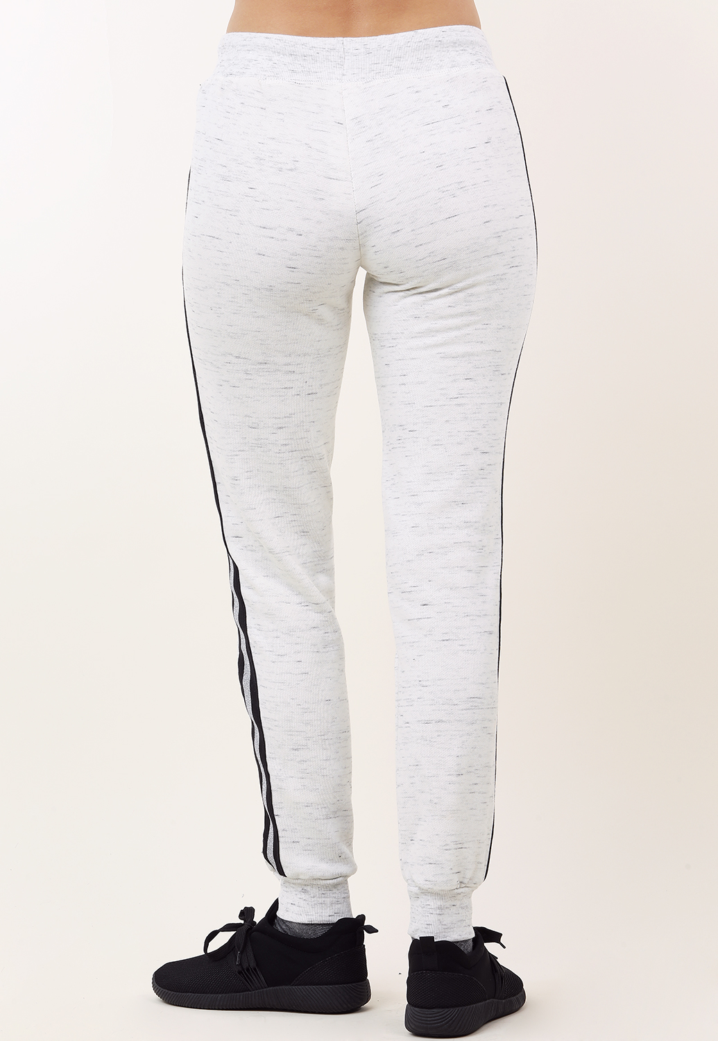 Side Metallic Striped Activewear Joggers