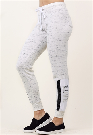 Metallic Love Graphic Activewear Joggers