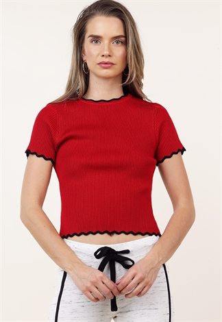 Lettuce Edge Casual Top