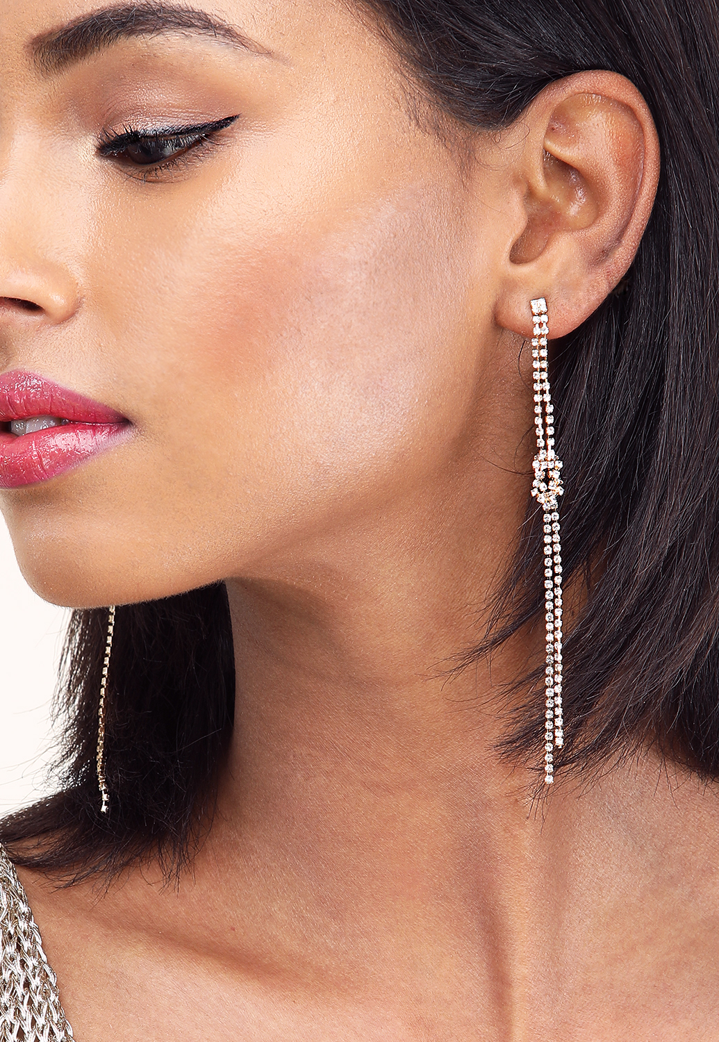 Knotted Drop Earrings