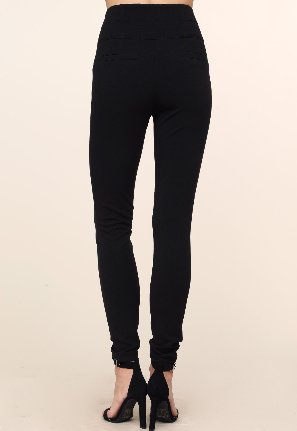 High Waist Skinny Dressy Pants