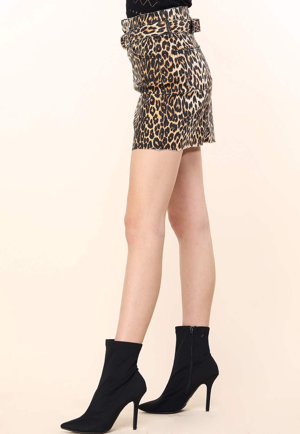 Cheetah Print Mini Skirt