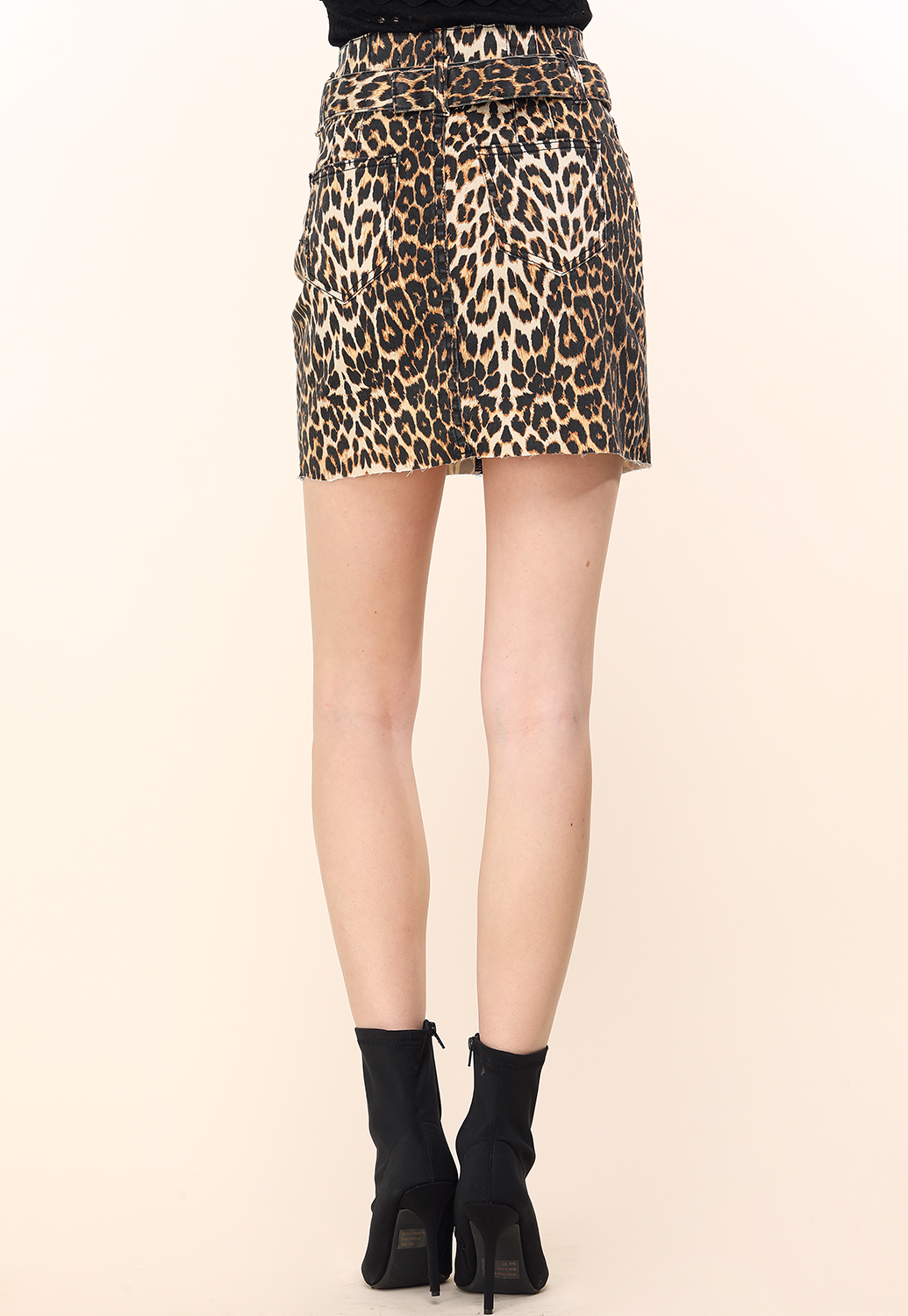 Cheetah Print Mini Skirt Shop Skirts At Papaya Clothing