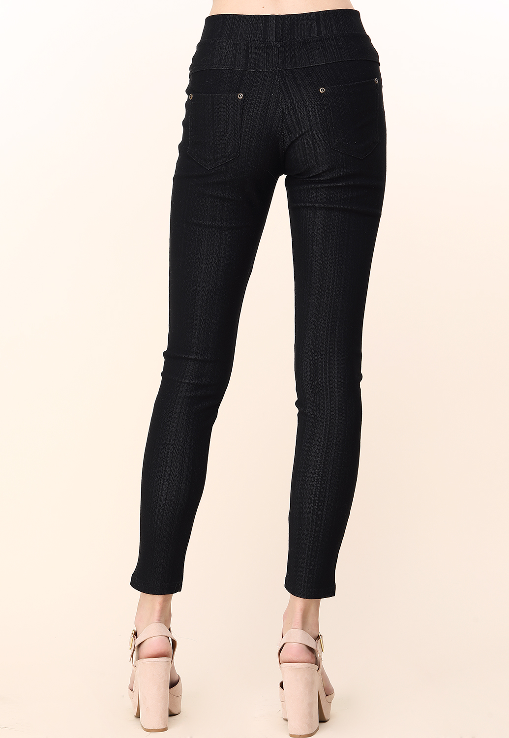 Back Pocket Detail Jeggings