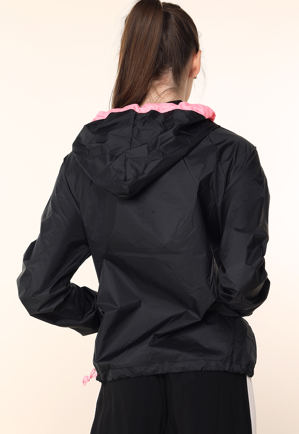 Half Zip-Up Windbreaker