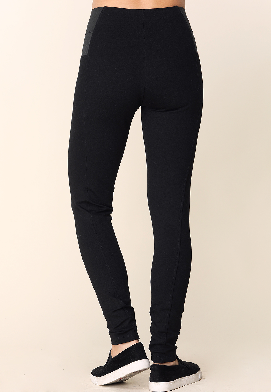 Banded Waist Jeggings