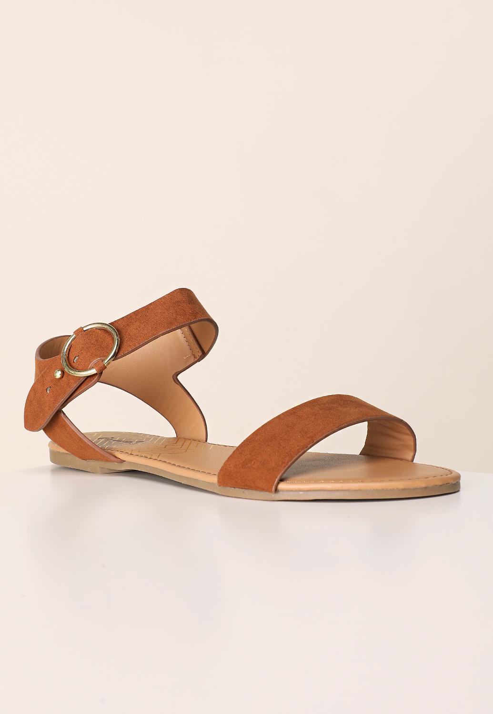 8de27360d Faux Suede Sandals