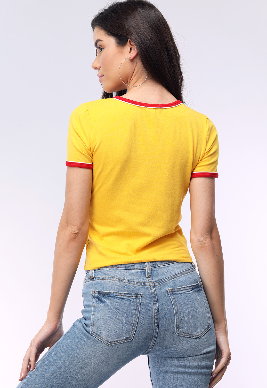 Round Neck Casual Tee