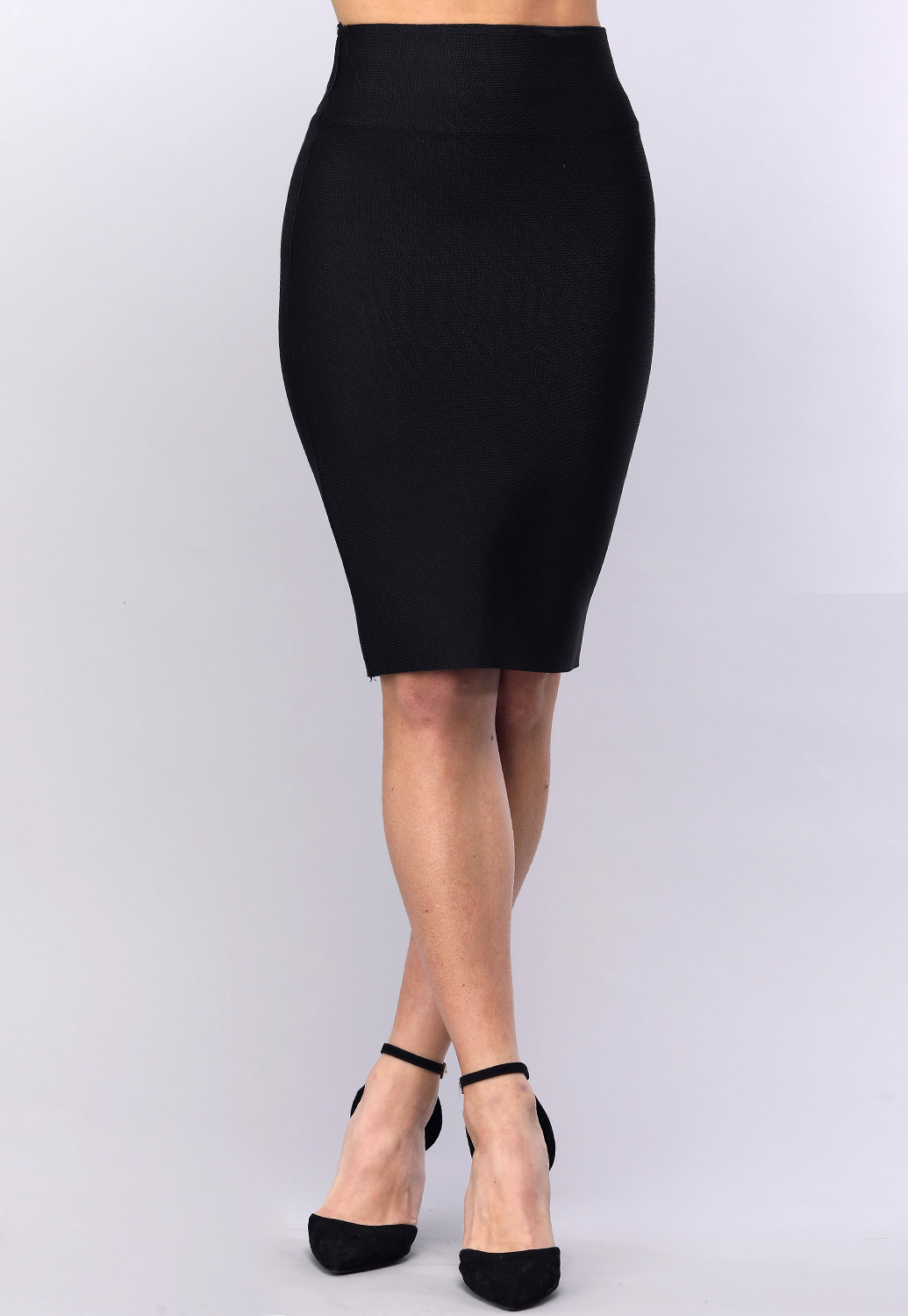 Thick High Waist Bandage Fit Skirt