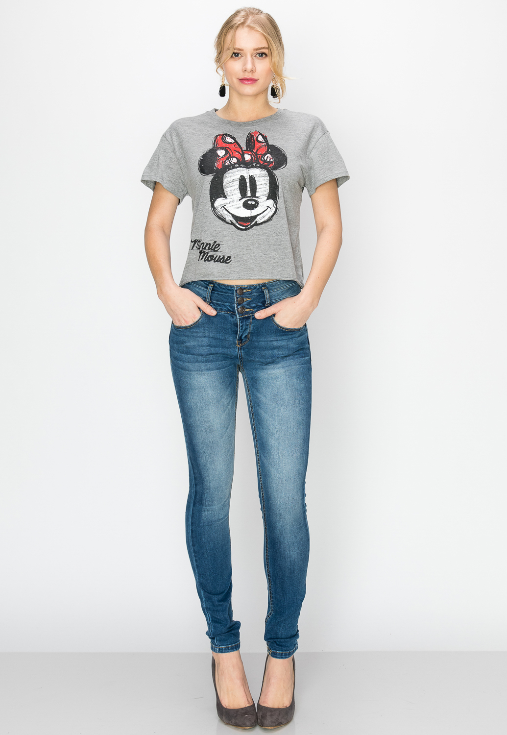Minnie Mouse Graphic Top