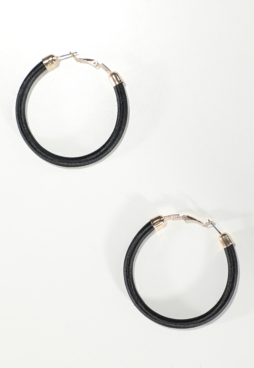 Wrapped Hoop Earrings