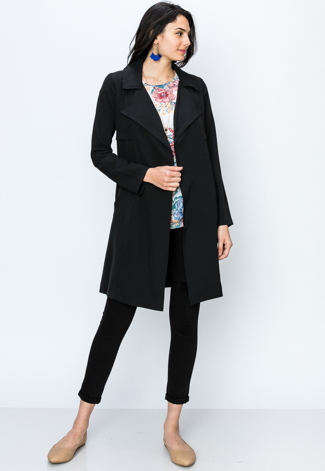 Self Tie Dressy Jacket