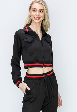 Zip-Up Activewear Jacket