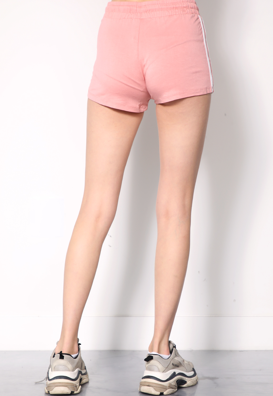 Side Striped Activewear Shorts