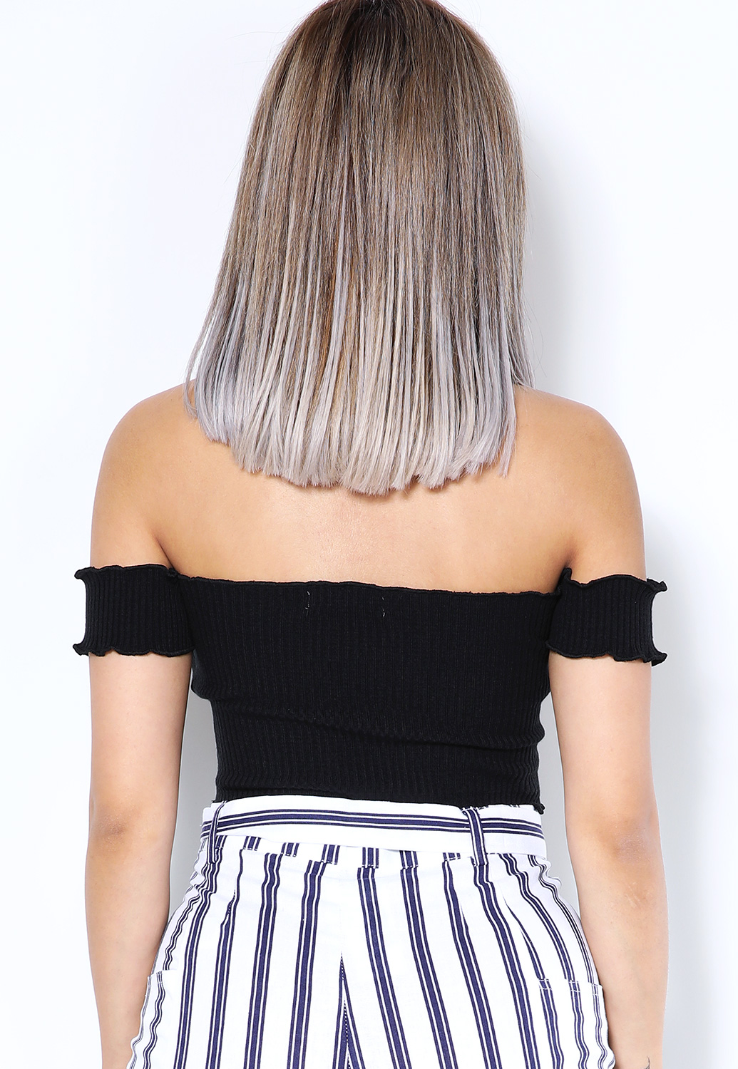 Off The Shoulder Crop-Top