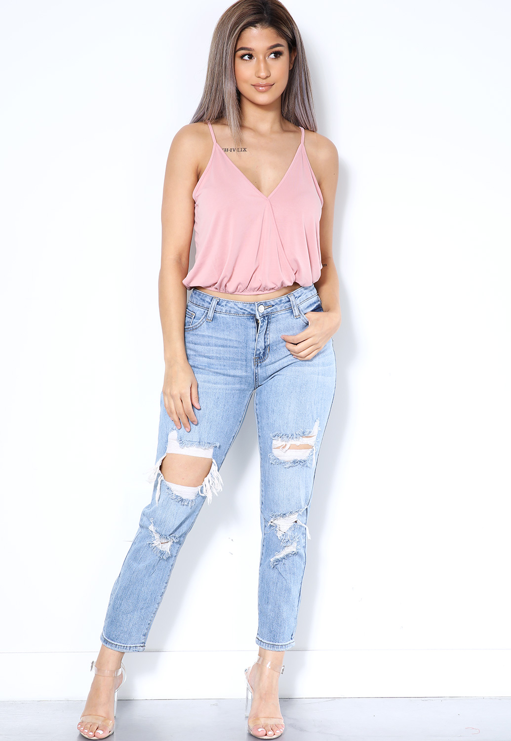 Front Surplice Top