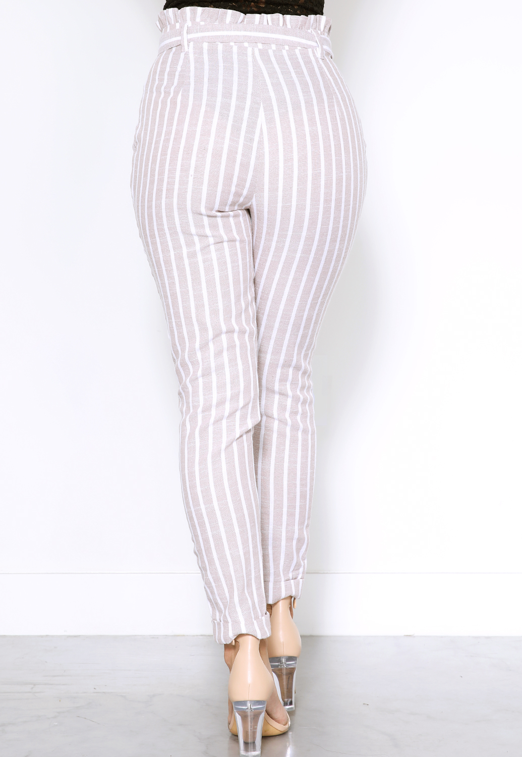 Pinstriped Dressy Pants