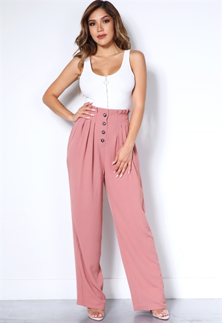 High Waist Dressy Pants