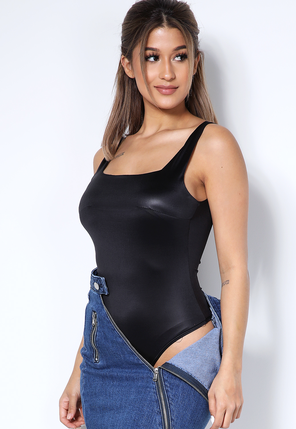 Satin Bodysuit