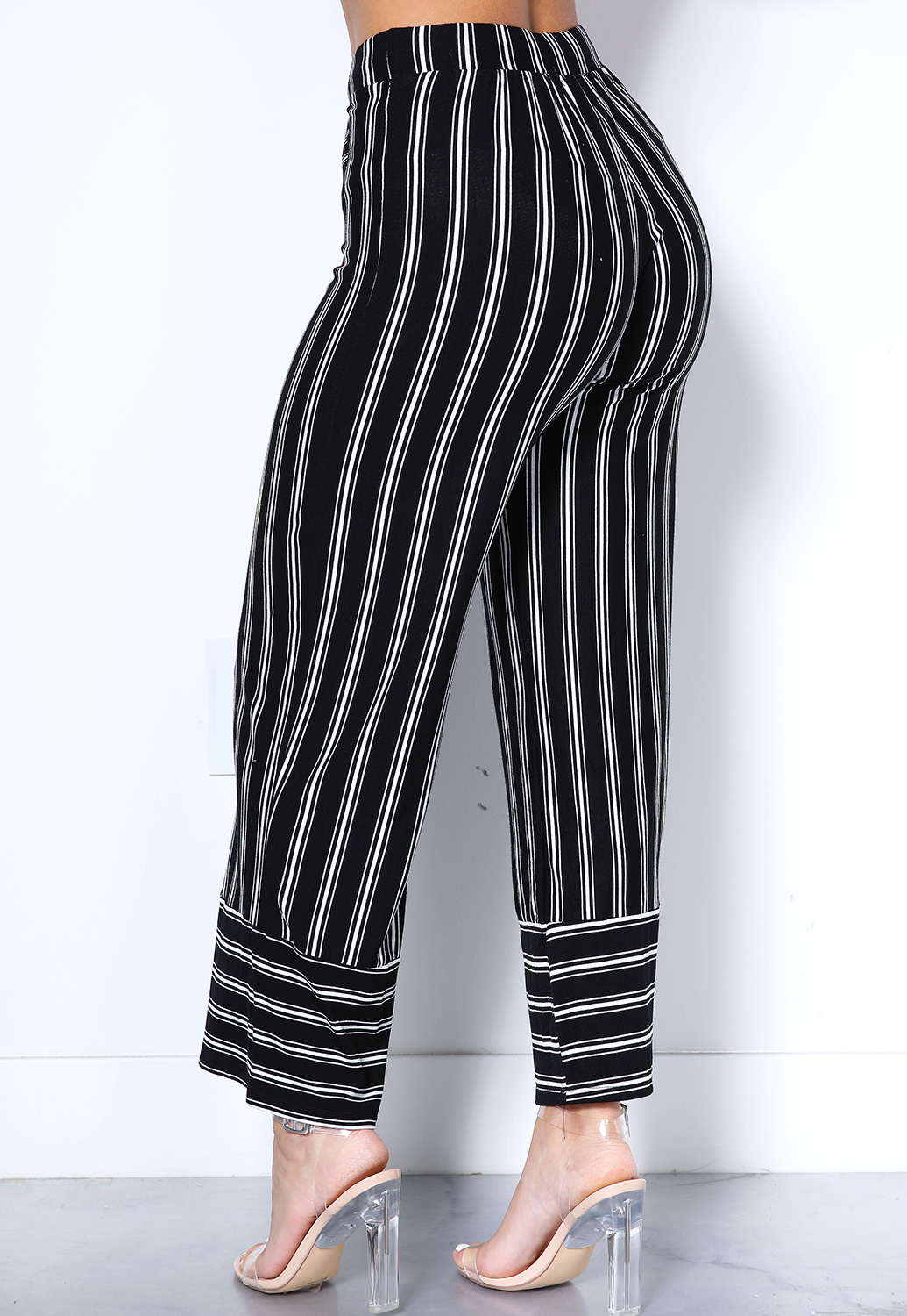 limited quantity hot-selling newest 2019 best sell Vertical Striped Flare Leg Pants | Shop Best Sellers at ...