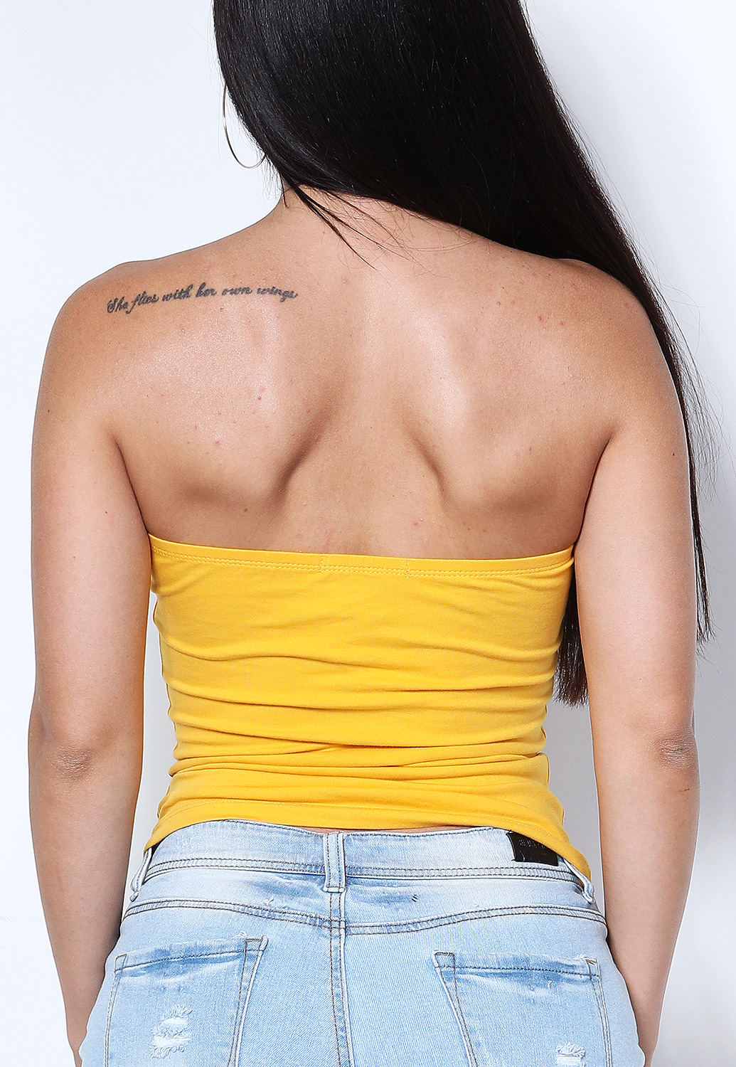 Strapless Crop-Top
