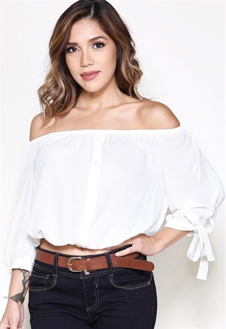 c0331da4f8c39b Off The Shoulder Top