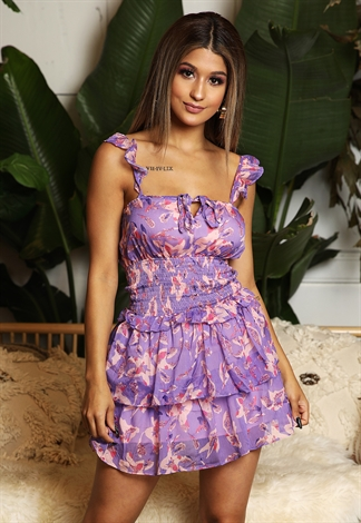 Ariana Floral Dress