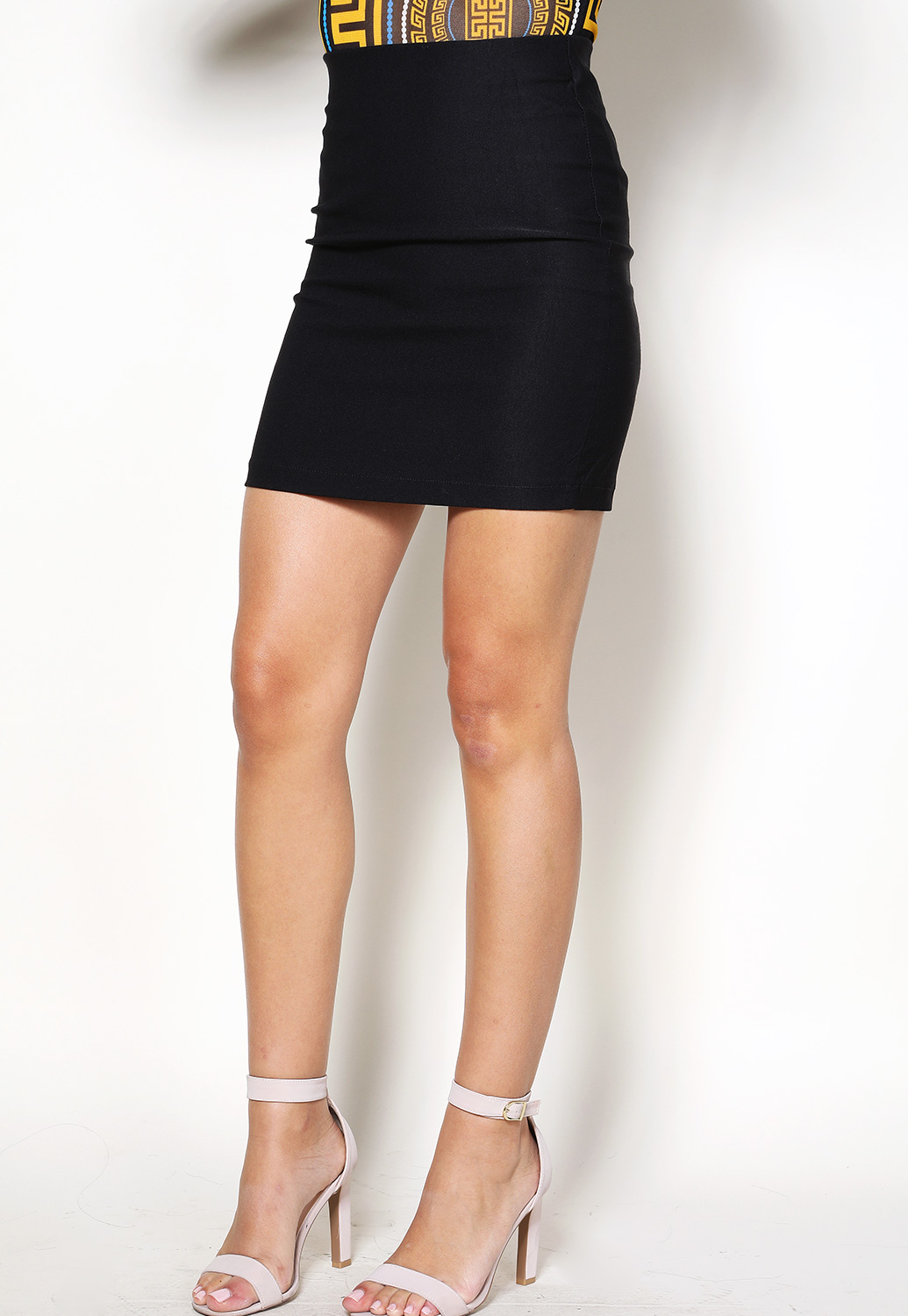 Stretch Dressy Mini Skirt
