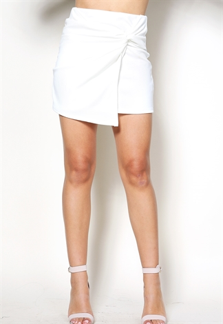 Twisted Knot Mini Skirt