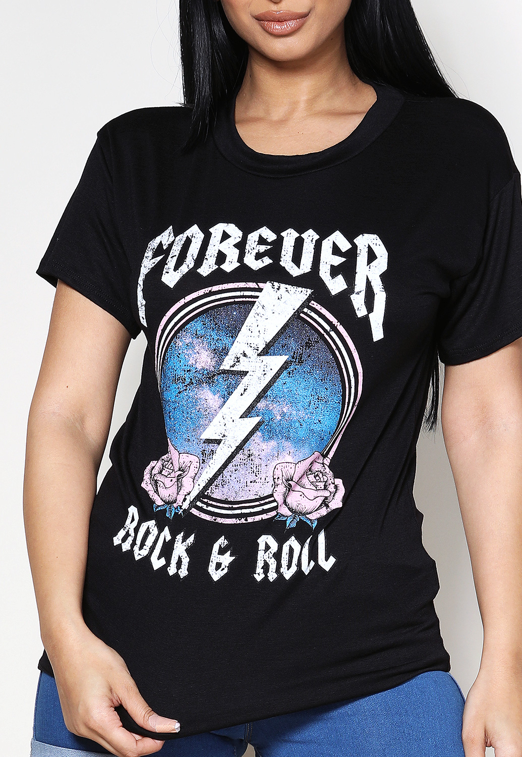 Forever Rock & Roll Graphic Tee
