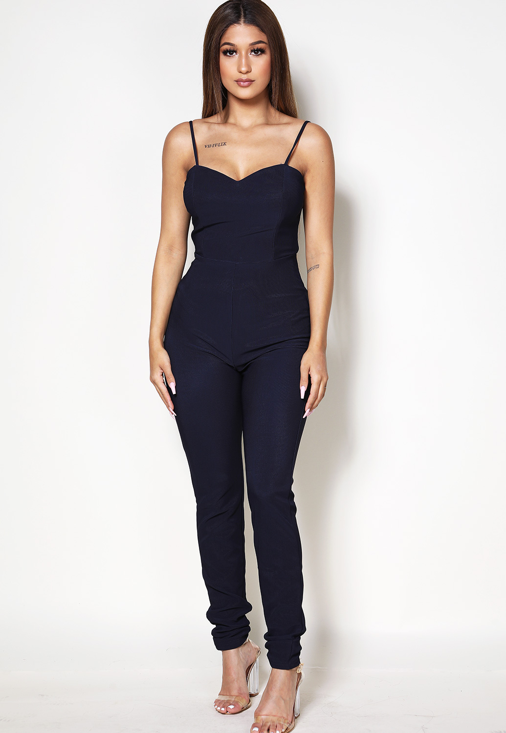 Back Open Jumpsuit